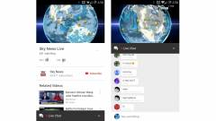 Élő chat mobilon a Youtube-közvetítéseknél kép
