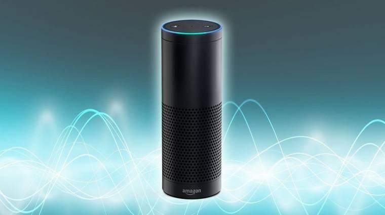 Amazon Echo - hangszóróba épített személyi asszisztens kép