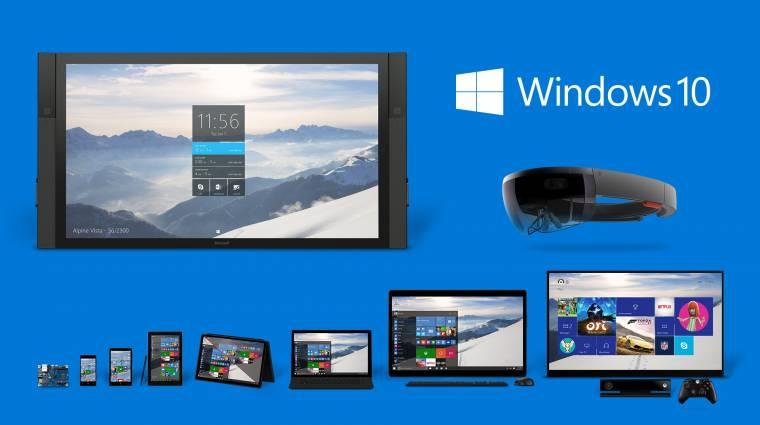 Ingyen Windows 10, itt vannak a hologramok - hírösszefoglaló kép