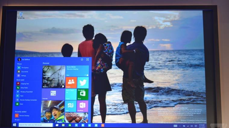 Hivatalos: ingyen lehet majd frissíteni a Windows 10-re kép