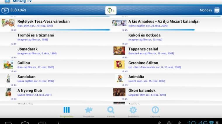 Így tévézzünk Androidon kép