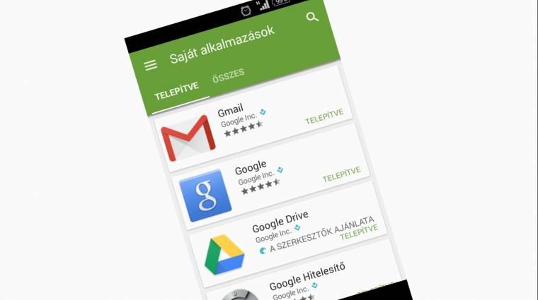 Nem frissülnek az androidos alkalmazásaink? kép