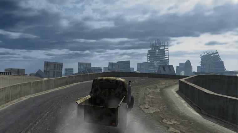 Magyar fejlesztésű autós játék Androidra kép