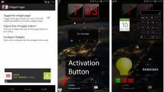 Tegyünk widgeteket az Android záróképernyőjére kép