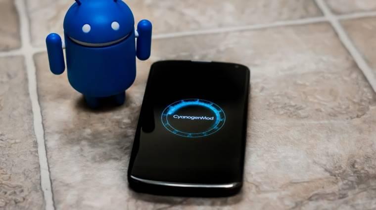 Google-mentesítené az Androidot a Cyanogen kép