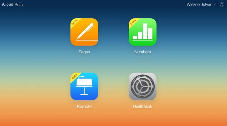 Bárki számára elérhető a webes Apple iWork kép