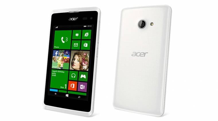 Már 79 eurótól is lesz Acer okostelefon kép