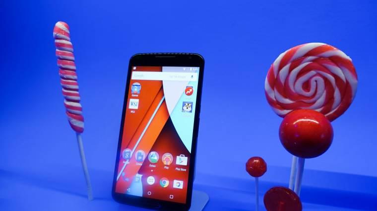 5 újdonság az Android 5.1-ből kép