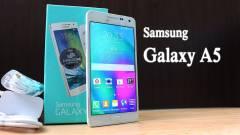Videón piszkáljuk az új Samsung Galaxy A5-öt kép