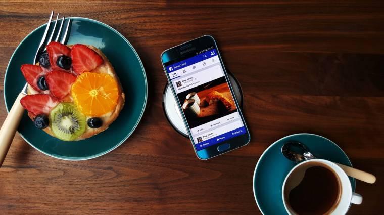 Fém és üveg a Samsung Galaxy S6 kép