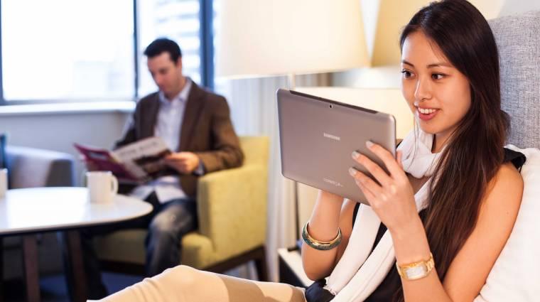 Így használd sok eszközön a szállodai internetet kép