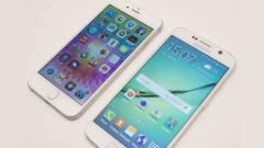 Samsung Galaxy S6 vs iPhone 6: mi a különbség? kép