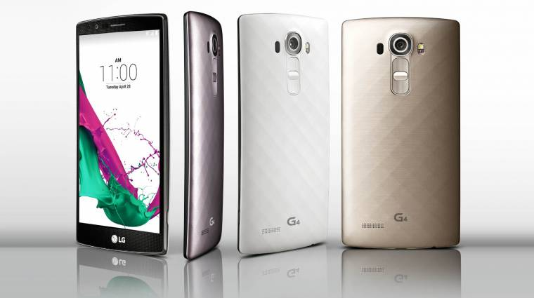 Hivatalos az LG G4 kameramobil kép