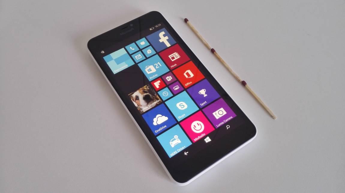 Microsoft Lumia 640 XL teszt - Középszerű óriás kép
