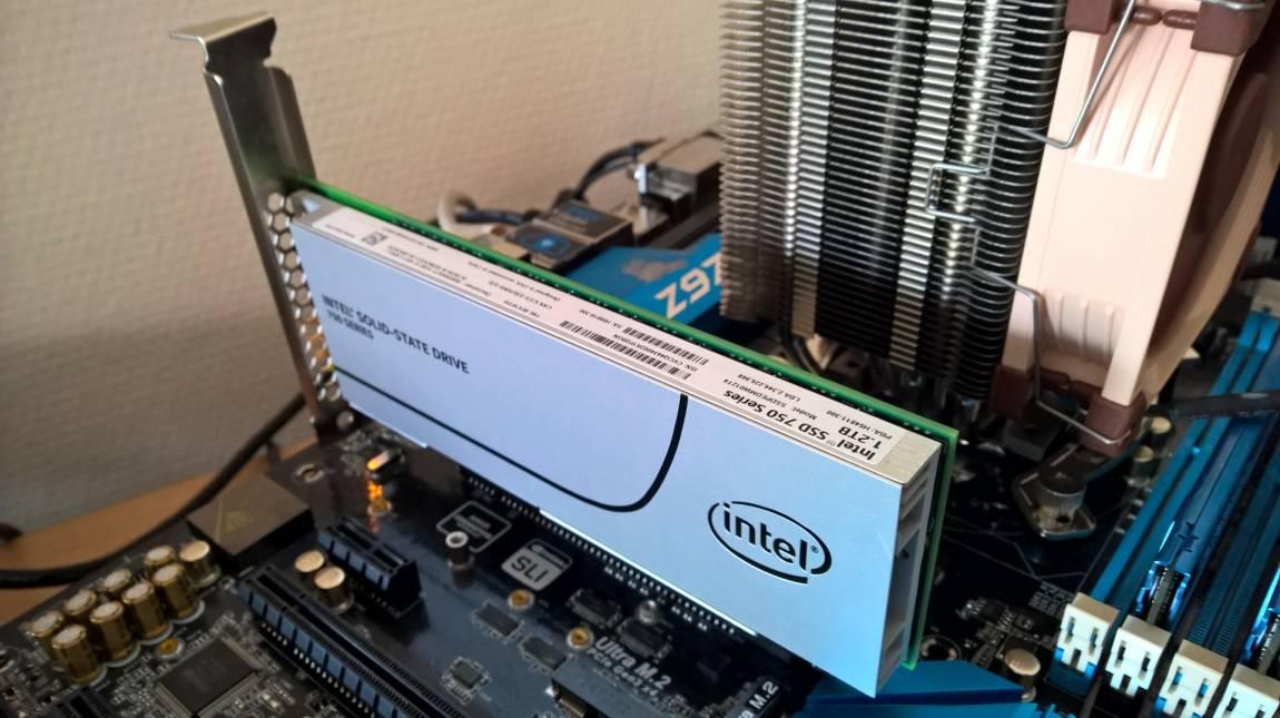 Teszt: Intel SSD 750 PCIe 1,2 TB - adattárolás hiperűrsebességgel kép
