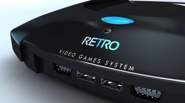 Retro VGS: retró játékkonzol csak új címekkel kép