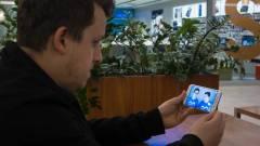 TheVR Tech - Samsung Galaxy S6 Edge testközelből kép