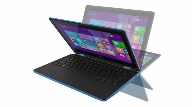 Acer Aspire R11: érintős minilaptop megfizethető áron kép
