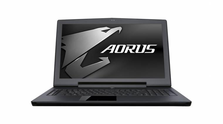 Lapos és elképesztően erős az Aorus X5 gamer laptop kép