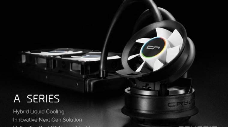 Hibrid folyadékhűtéssel és IoT-képes tápegységgel újít a CRYORIG kép