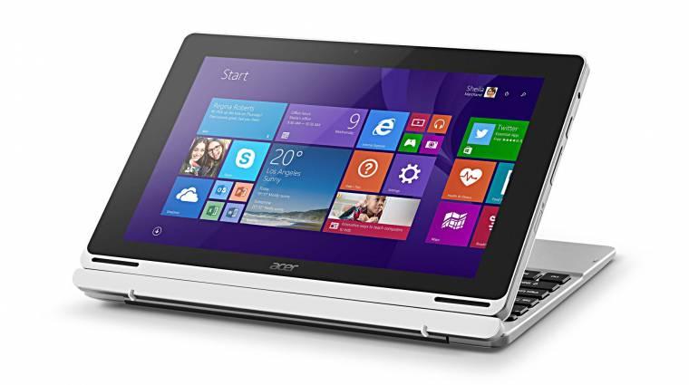 Acer: átalakítható PC, viselhető kütyük és Chromebox a Computexen kép