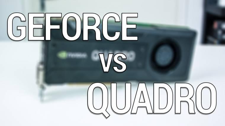 Mi az NVIDIA Quadro? kép