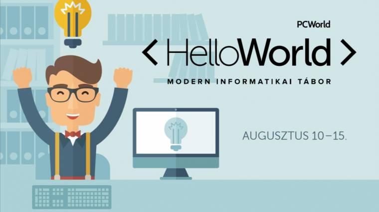 A legmenőbb gyerektábor: HelloWorld kép