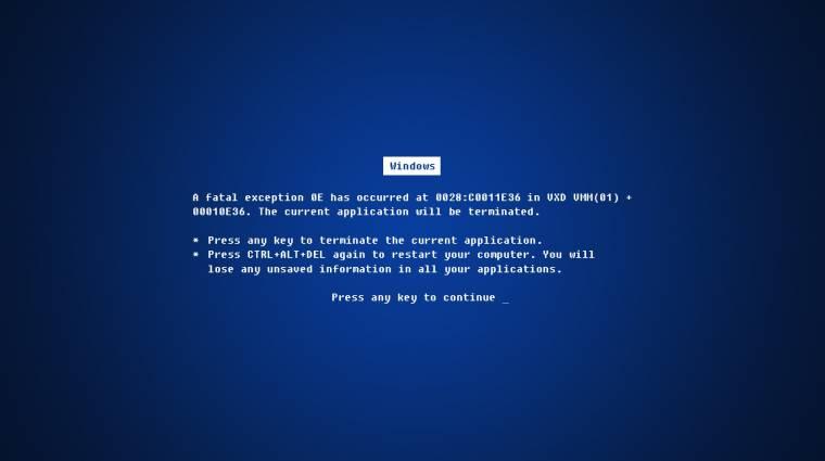 Rontókeddek: tragikus Windows-frissítések kép