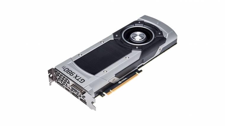 Kegyetlen az NVIDIA GeForce GTX 980 Ti kép