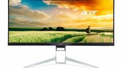 Óriási hajlított Acer monitor ínyenceknek kép