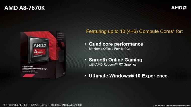 Jó vételnek tűnik az új AMD A8-7670K APU kép