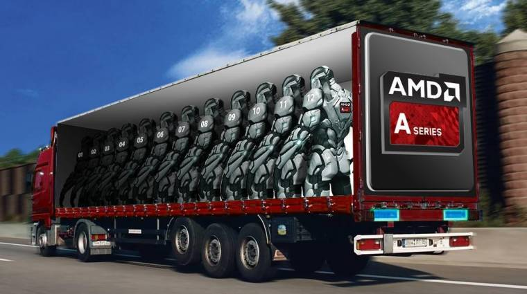 Platformcsapda - AMD kép