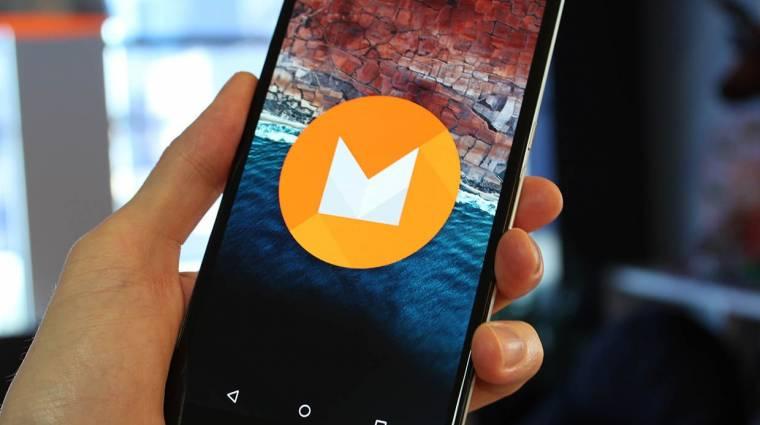 Az appjaid összes adatát menti az Android M kép