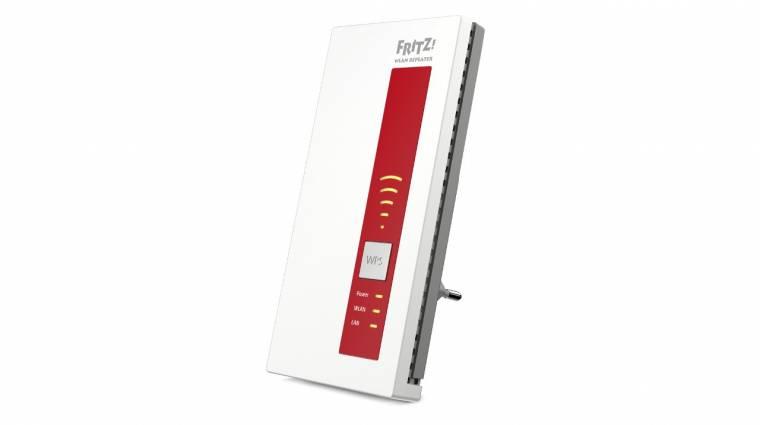 AVM Fritz!WLAN Repeater 1750E: Wi-Fi ac-t mindenhova kép
