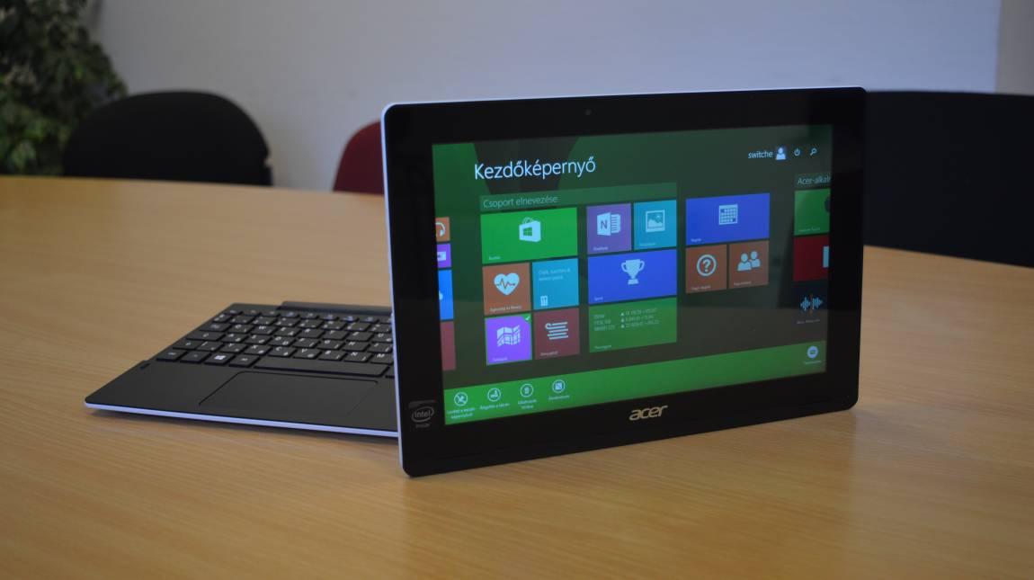 Acer Aspire Switch 10 E teszt - Ismerős, új köntösben kép