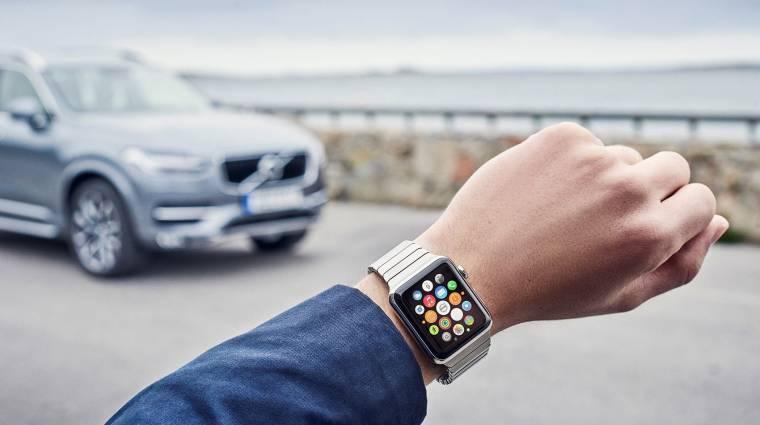 Egy Volvo XC90-nel is elboldogul az Apple Watch kép