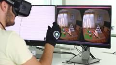A VR-headset után itt a VR-kesztyű kép
