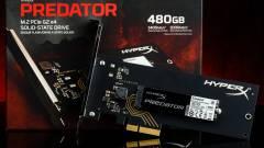 M.2 PCIe HyperX Predator SSD a Kingstontól kép