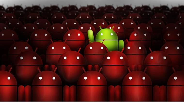 Hatalmas veszélybe került az Android kép