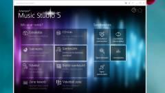 Ashampoo Music Studio 5: zenész ezermester kép