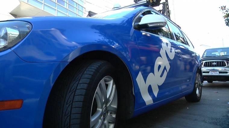 Német autógyártók kezébe kerülhet a Nokia HERE Maps kép
