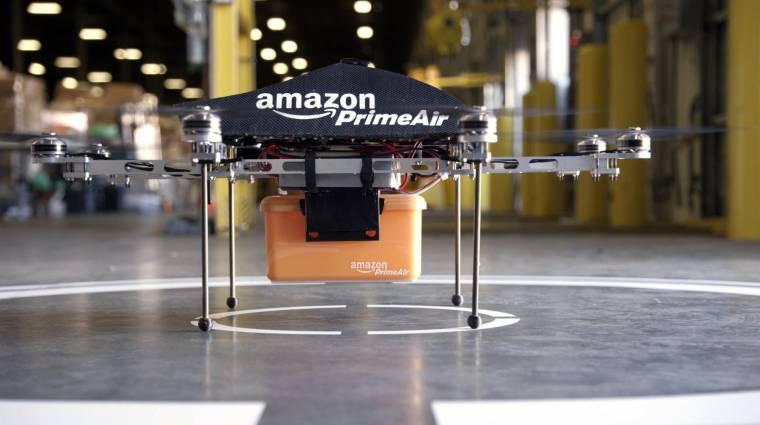Saját légteret akar a drónjainak az Amazon kép