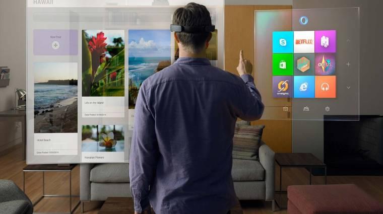 Így csinál hologramokat a szobádban a Microsoft kép