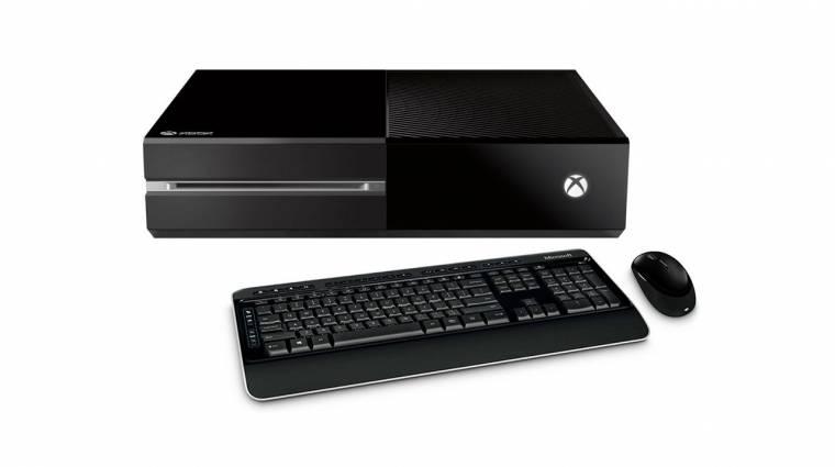 Egér-billentyűzet támogatást kap az Xbox One kép