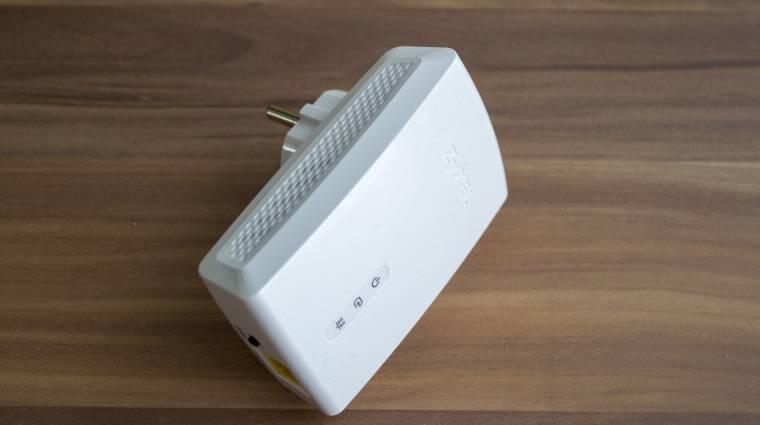 ZyXel PLA5405 - vezetékben az erő! kép