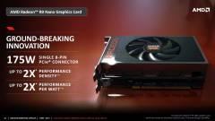 Alig fogyaszt, mégis erőmű a Radeon R9 Nano kép