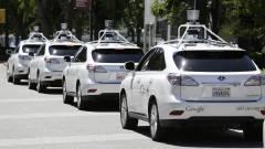 Túl óvatos a biciklisekkel a Google robotautója kép