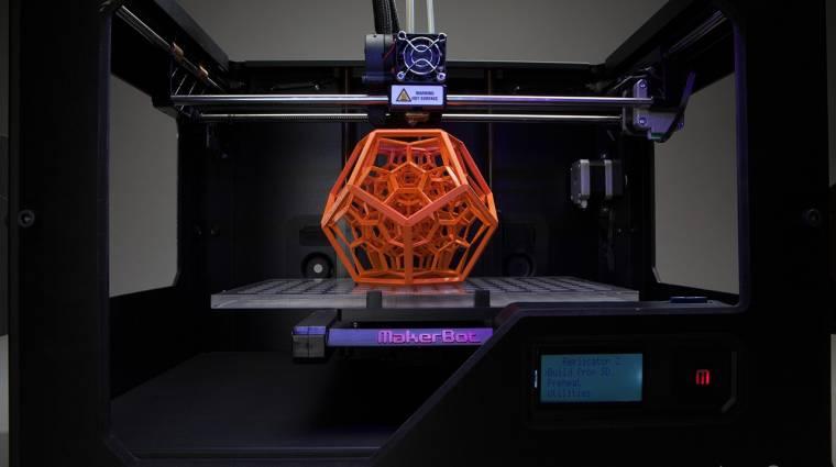 HelloWorld: jönnek a 3D nyomtatók kép