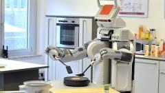 A netről tanult meg palacsintát sütni a robot kép