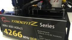 Villámgyors DDR4-es memóriák a G.Skilltől kép